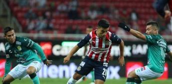 Chivas y León jugarán partido amistoso a puerta cerrada.