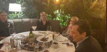 Captan en fotografías a Emilio Lozoya en restaurante de las Lomas