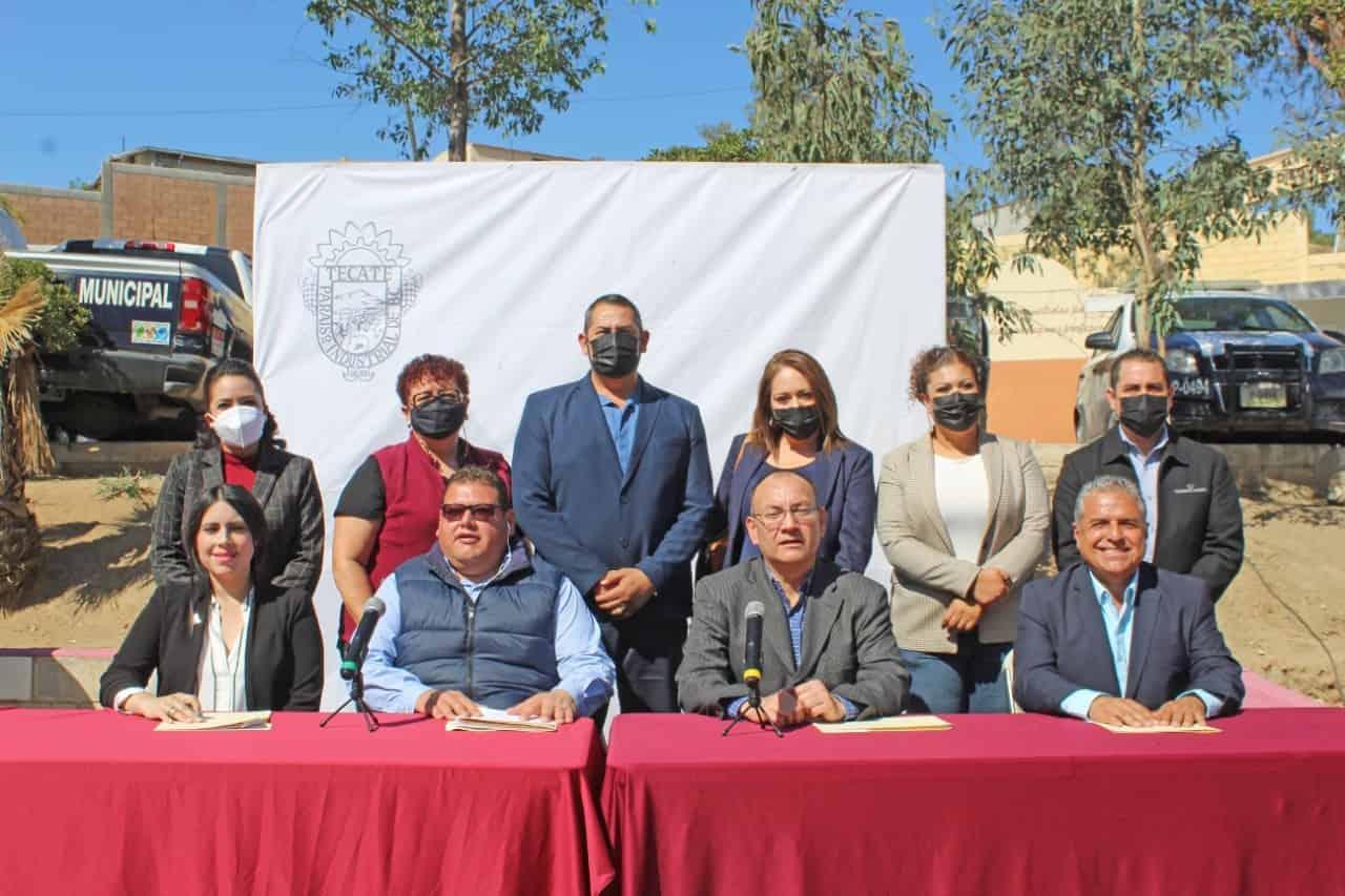 Quedan instaladas 3 comisiones más del XXIV ayuntamiento de Tecate.