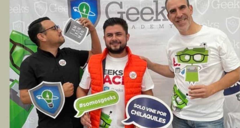 Geeks Academy retoma actividades presenciales con el evento ¡Geeks is Back!