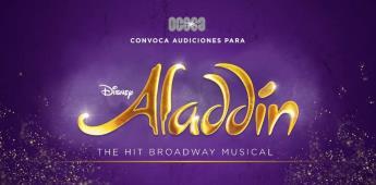 Broadway aterrizará en México con el estreno del musical Aladdin