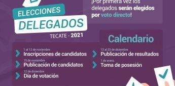 Por primera vez en la historia los Delegados serán electos por el pueblo