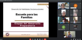 """Más de 4 mil padres de CECyTE BC concluyeron """"Escuela para la Familia"""""""