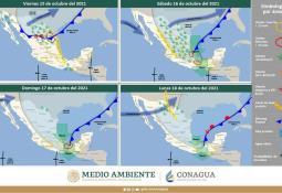 Alerta Protección Civil Estatal sobre condiciones de vientos de Santana en las próximas horas