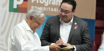 Solicita Darío Benítez incluir a Tecate en el PMU a AMLO durante su visita a Tecate