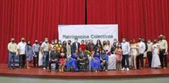 Gobierno de Tecate hace posible que 17 parejas se unan en matrimonio