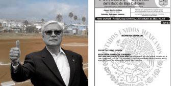 Bonilla inicia proceso de expropiación de terrenos de liga de beisbol Playas de Tijuana
