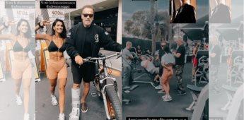 Bárbara de Regil presume encuentro con el actor Arnold Schwarzenegger