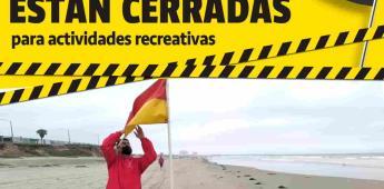 Continúa vigente el cierre precautorio para Playa Hermosa y Conalep 1