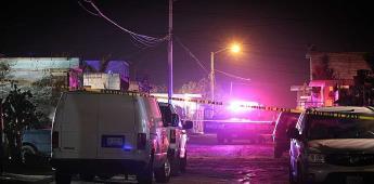 Asesinan a joven de 28 años con arma de fuego en fraccionamiento Villa del Campo segunda sección.