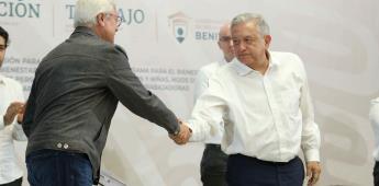 Está elevado el reto de superar al gobernador Jaime Bonilla Valdez en BC, reconoce presidente López Obrador