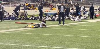 Partido de futbol americano es interrumpido por un tiroteo