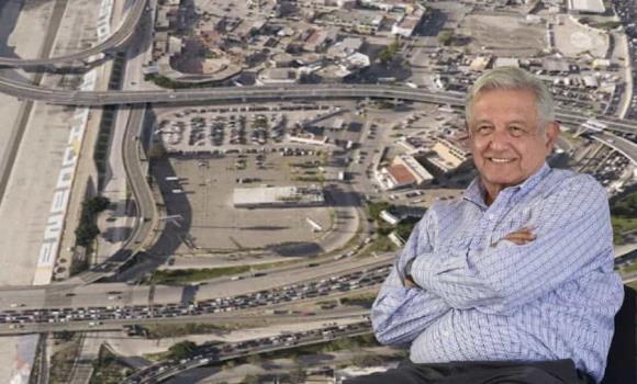 AMLO anuncia construcción de segundo piso de Tijuana; será gratuito
