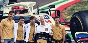 ¿Quién es Nikita Mazepin, piloto de la Fórmula 1 que visitó CU?