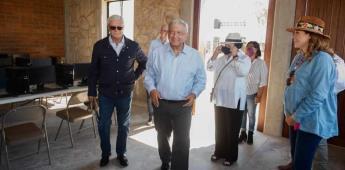 Destacan cuarta visita de López Obrador en San Quintín