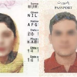 Regresa a México pareja afgana deportada