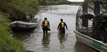 Rescatan a dos niños migrantes de ahogarse en el río Bravo