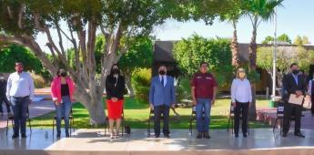 COBACH BC rindió homenaje al profesor Jorge Barrera