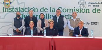 Inician labores las Comisiones por los Derechos de las Personas con Discapacidad y Desarrollo social