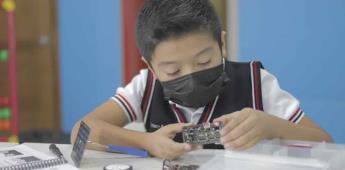 La robótica educativa en las escuelas fortalece las vocaciones regionales