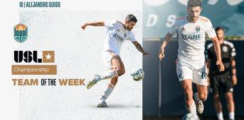 Alejandro Guido, En el Equipo de la Semana Por Segunda Jornada Consecutiva