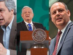 AMLO llama ternuritas a Claudio X. González y Gustavo de Hoyos.