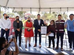 Inauguran Gobierno de Ensenada y ECA LNG rehabilitación de Parque Chapultepec